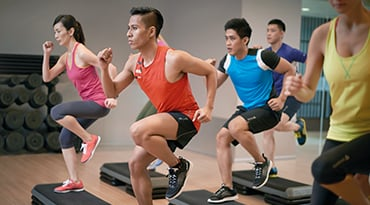 Fitness First Hong Kong bodystep athletic class
