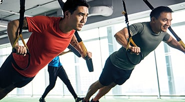 Fitness First Hong Kong group suspension training body blast class