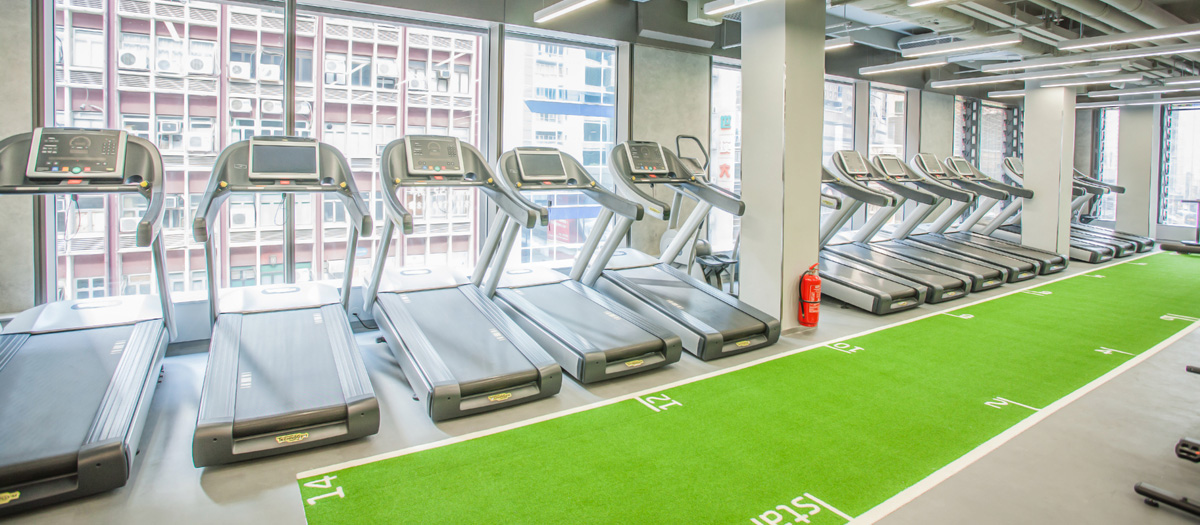Fitness First Nan Fung Place Cardio Area