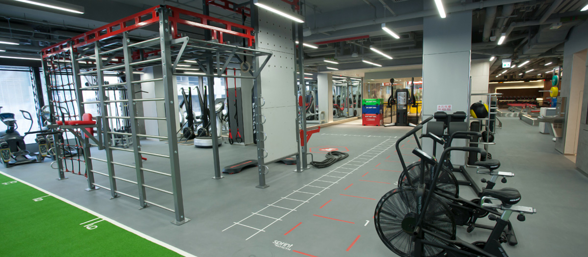 Fitness First Nan Fung Place Gym Floor