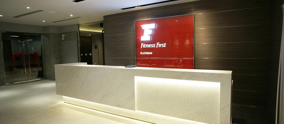 Fitness First Nan Fung Place Reception