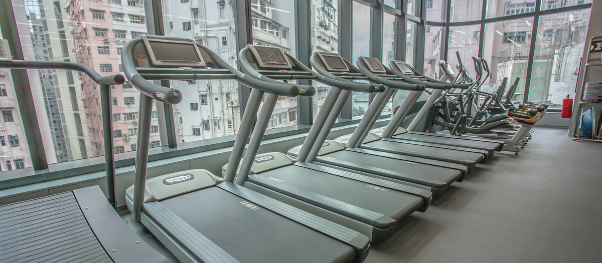 Fitness First Causeway Bay Cardio Area