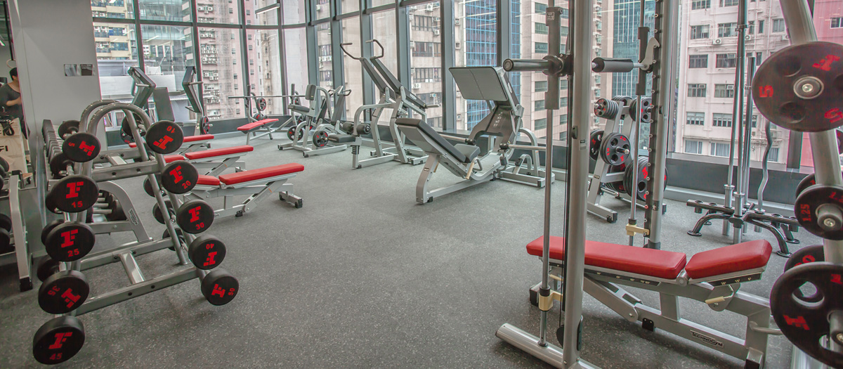 Fitness First Causeway Bay Weight Area 1