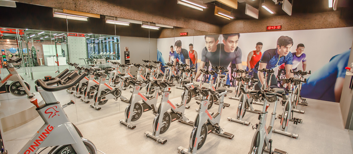 Fitness First Causeway Bay Spinning Studio