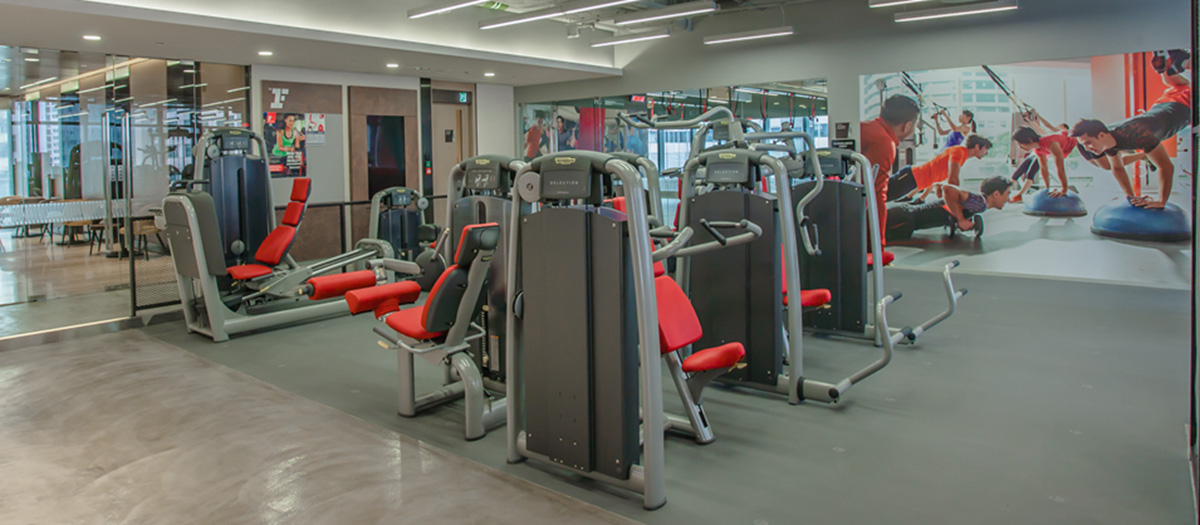 Fitness First Causeway Bay Weight Area 2