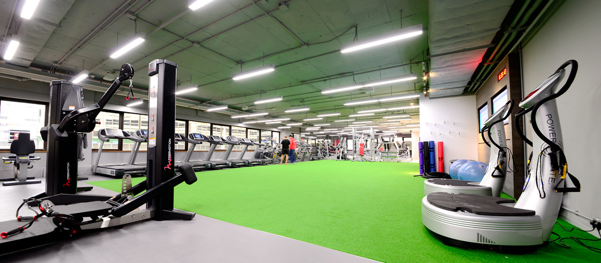 Fitness First Harbour City WCC Gym Floor
