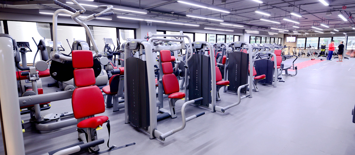 Fitness First Harbour City WCC Weight Area 1