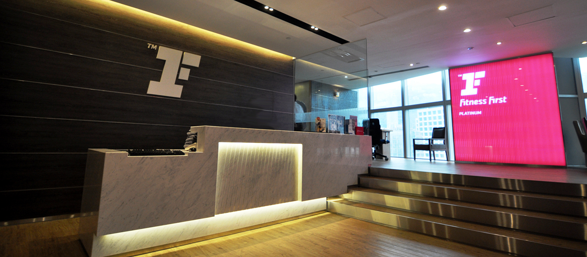 Fitness first - Capital tower fitness first swimming pool ...